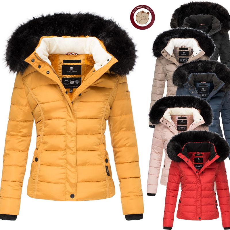 Navahoo Damen Winter Jacke Steppjacke Miamor XS-XXL